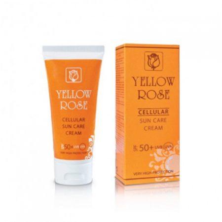 Yellow Rose zonbeschermingsfactoren SPF